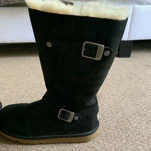 Ugg brand  black Kensington boots